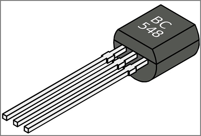 Las piezas de la placa de circuito