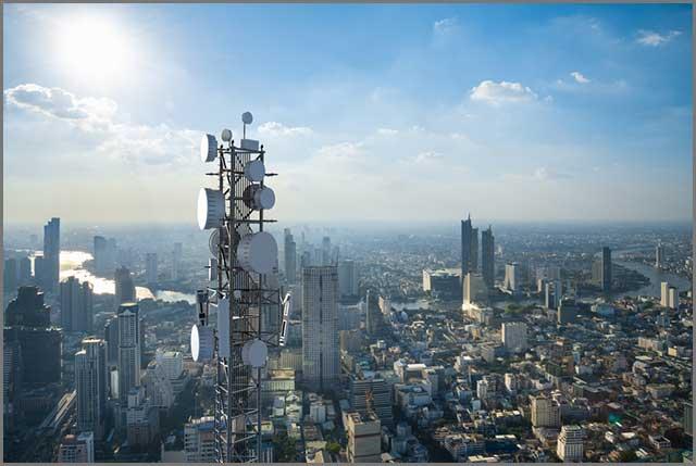 Torre de la estación base Alt- 5G