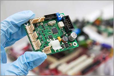 La placa de circuito PCB