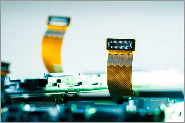 placa de circuito rígido-flexible